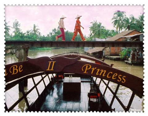 Cai Be Princess in Mekong delta