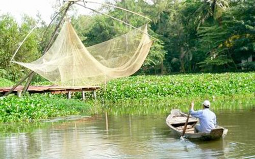 Fishing in Ben Tre